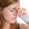 Головная боль в области глаз: причины и лечение