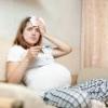 Как снизить температуру при беременности?