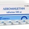 Левомицетин таблетки - инструкция по применению