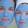 Маски из голубой глины для лица