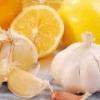 Настойка для сосудов из чеснока и лимона