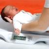 Норма набора веса у грудничков - таблица с показаниями