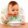 Основные правила прикорма детей до года