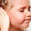 Отит у детей, симптомы и лечение