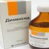 Пяточная шпора: лечение димексидом