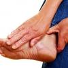 Подагра на ноге: лечение