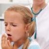 Причины сухого, влажного, ночного или утреннего кашля у детей