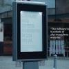 Рекламные щиты от комаров-переносчиков вируса зика