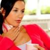 Спиртовой компресс на горло