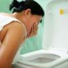 Тошнота и рвота желчью при беременности, что делать?