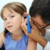 У ребенка болит ухо – что делать?